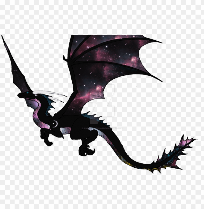free PNG alaxy dragon transparent clipart dragon drawing - dragon de la galaxie PNG image with transparent background PNG images transparent