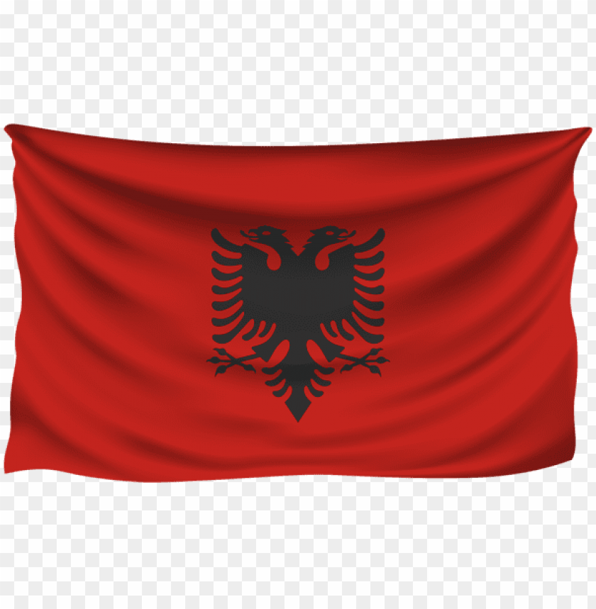 free PNG Download albania wrinkled flag clipart png photo   PNG images transparent