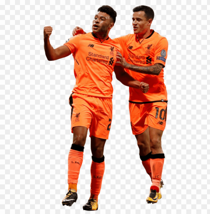 free PNG Download alex oxlade-chamberlain & philippe coutinho png images background PNG images transparent