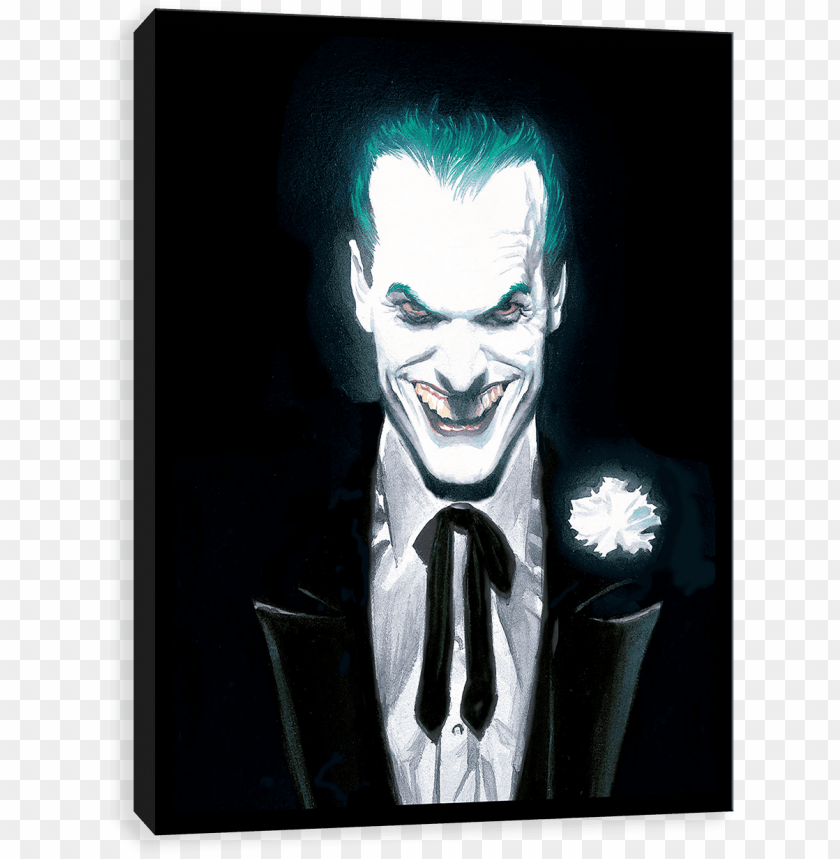free PNG alex ross the joker PNG image with transparent background PNG images transparent