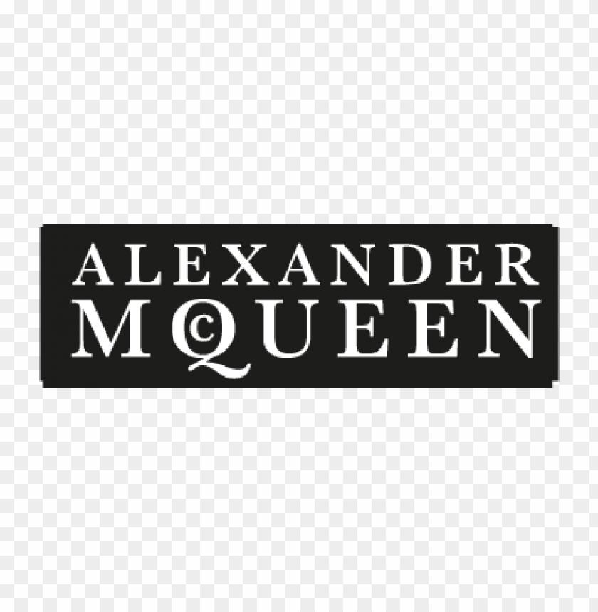 free PNG alexander mcqueen vector logo PNG images transparent