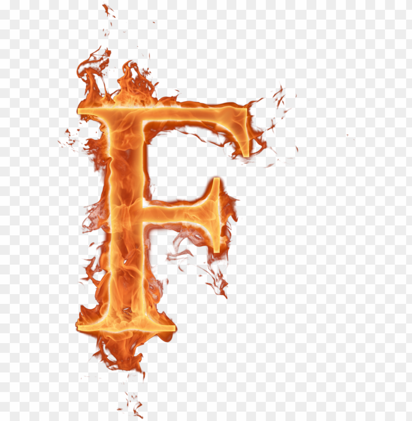 Alfabeto Completo De Fuego Png Letra F De Fogo Png Image With
