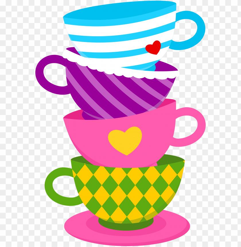 free PNG alice in wonderland tea cups png - alice in wonderland tea cups clipart PNG image with transparent background PNG images transparent