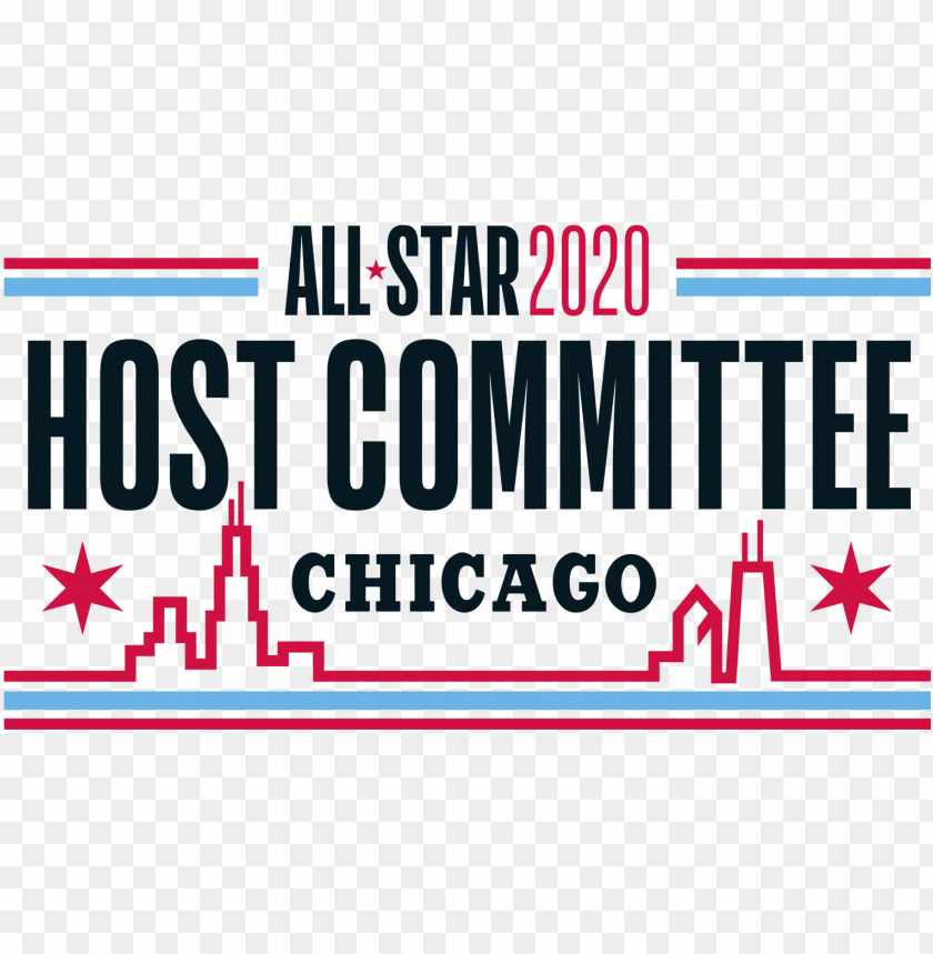 All Star 2020 Host Committee Chicago Bulls Png Image With