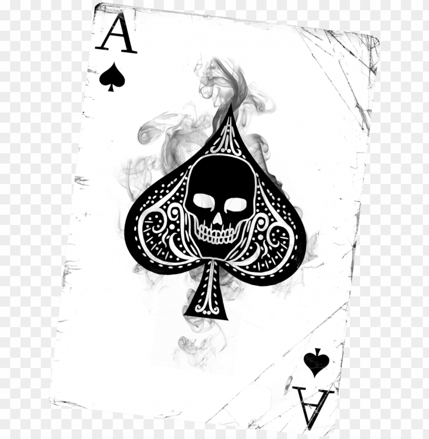 free PNG allery for ace of spades tattoo designs for men - ace of spades art PNG image with transparent background PNG images transparent