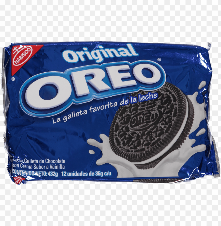 free PNG alletas oreo bolsa 432gr euro supermercados - oreo cream sandwich cookies PNG image with transparent background PNG images transparent