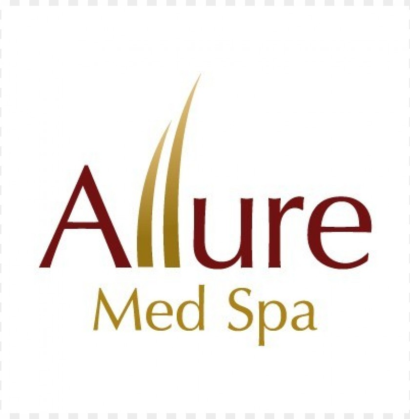 free PNG allure med spa logo vector PNG images transparent