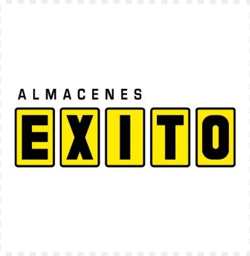 free PNG almacenes exito logo vector PNG images transparent