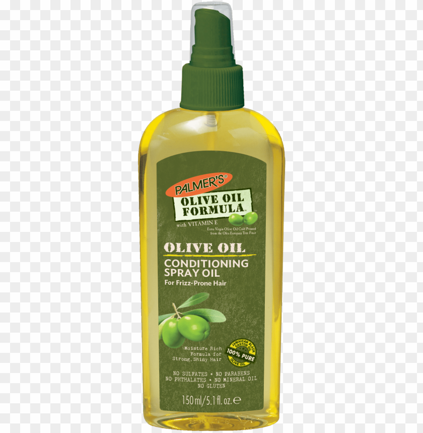 free PNG almer's olive oil formula spray with virgin olive - palmer's olive oil conditioning spray oil PNG image with transparent background PNG images transparent