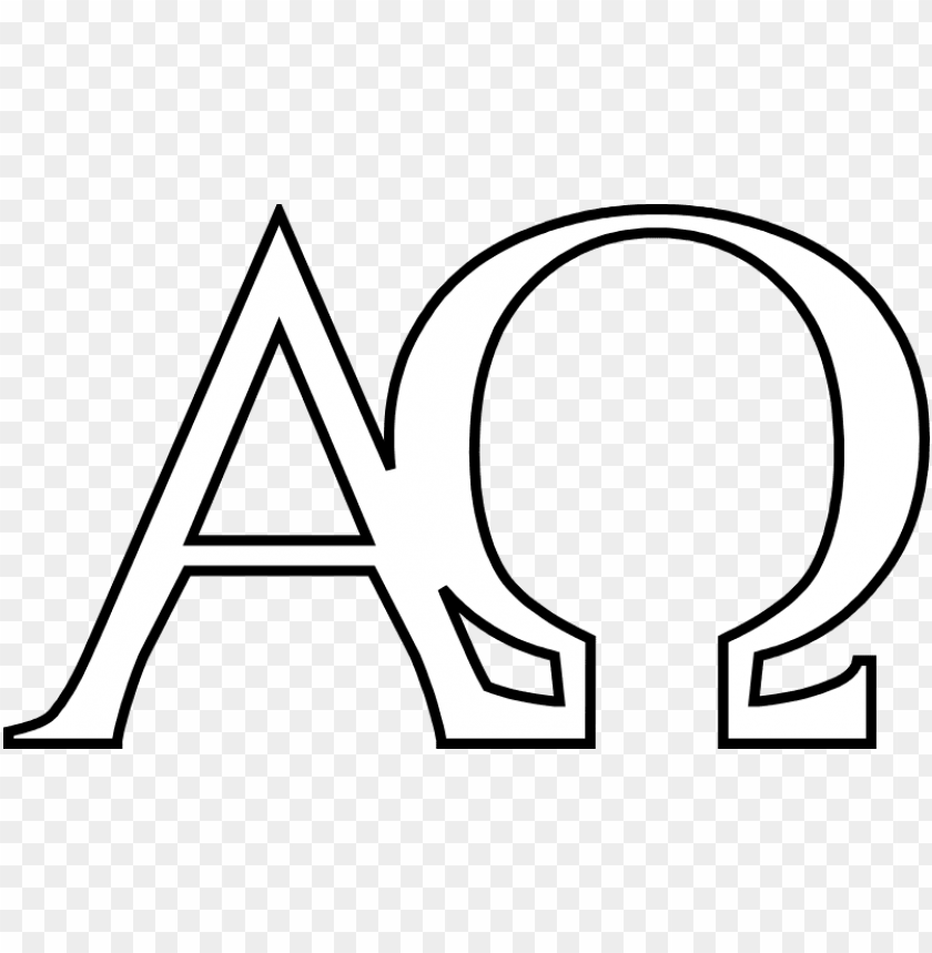 free PNG alpha and omega are the first and the last letters - alpha and omega clipart PNG image with transparent background PNG images transparent