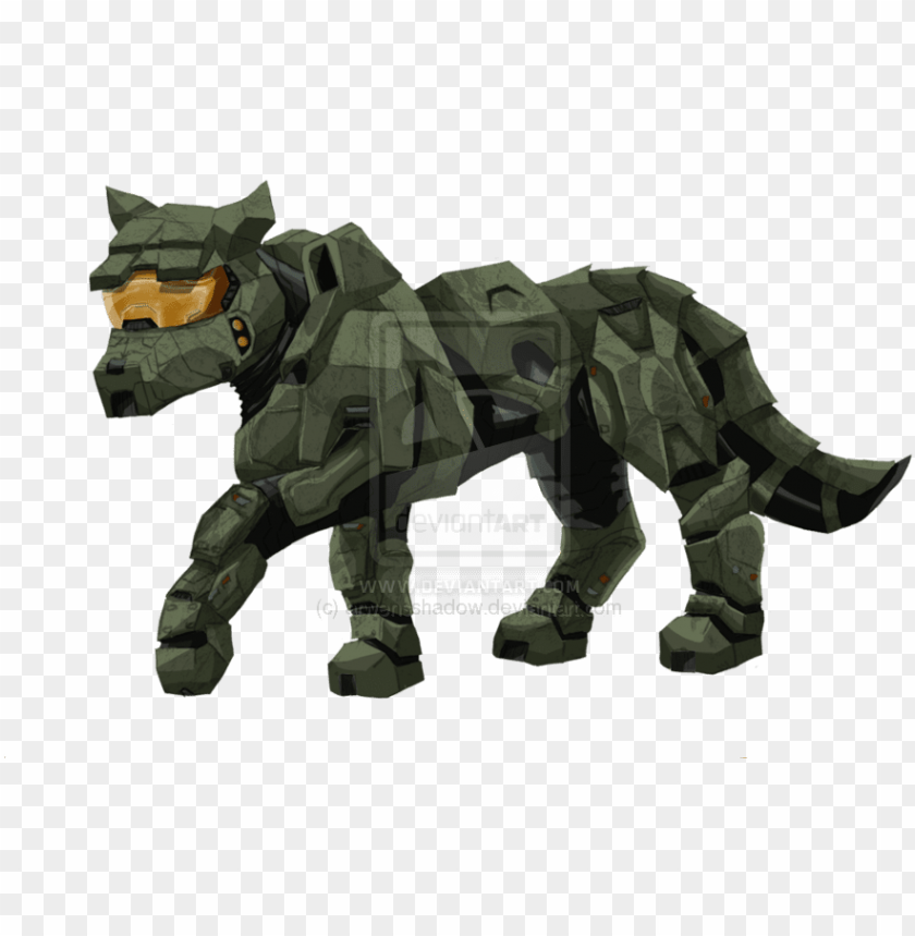 Alpha And Omega Images Master Chief As A Wolf Halo Master