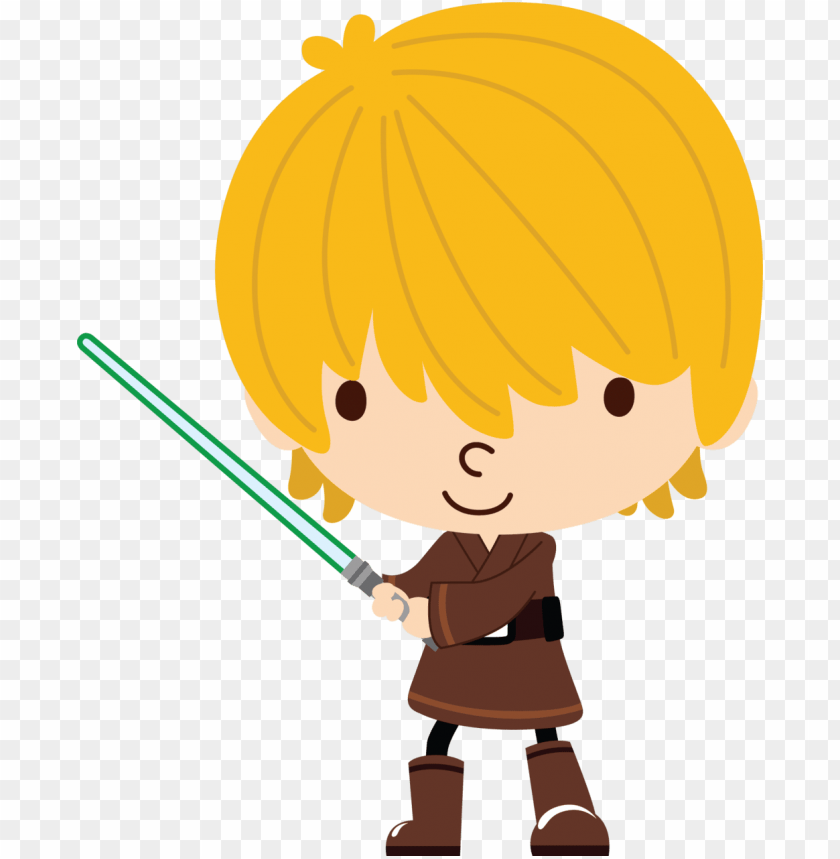Already Felt Characters 2 Luke Star Wars Clipart Png Image With