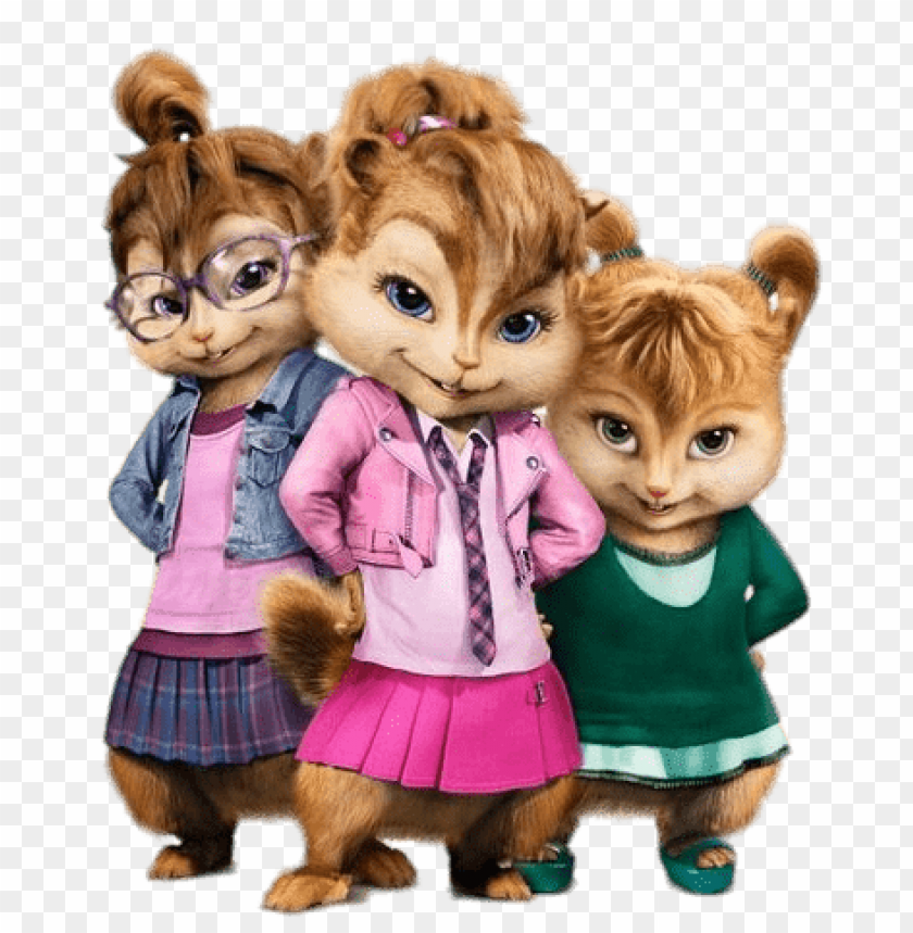 free PNG Download alvin and the chipmunks chipettes clipart png photo   PNG images transparent