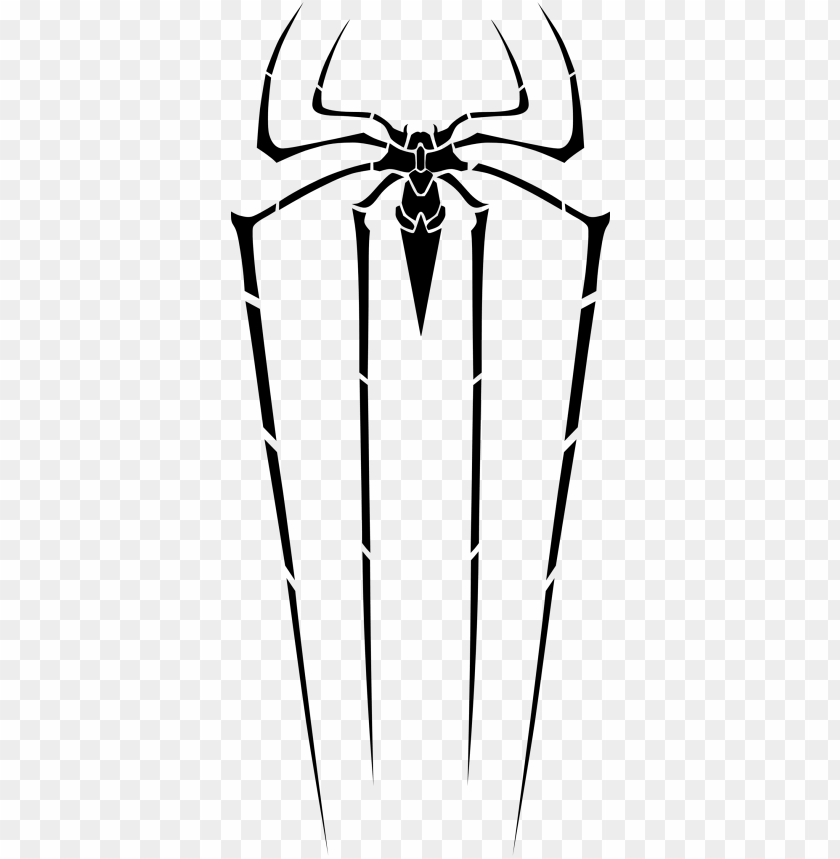 free PNG amazing spider-man logo on the outside of my right - amazing spiderman spider logo PNG image with transparent background PNG images transparent