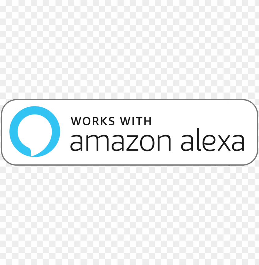 free PNG amazon alexa badge color 1a 2018 9 21 - amazon alexa works PNG image with transparent background PNG images transparent