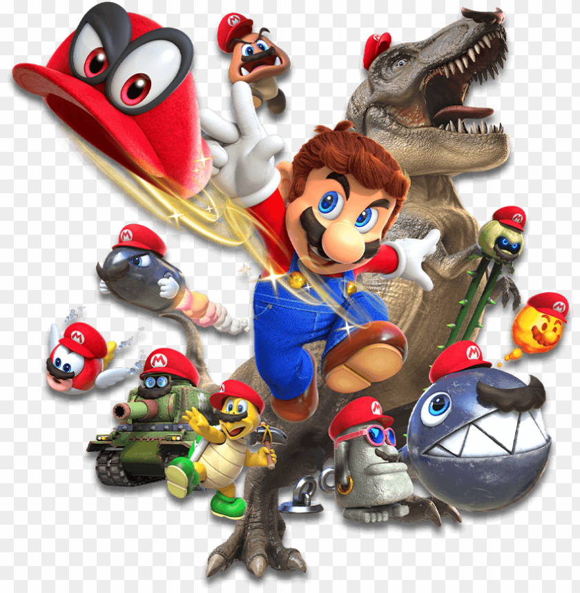 Ame Figures Nintendo Super Mario Odyssey Png Image With