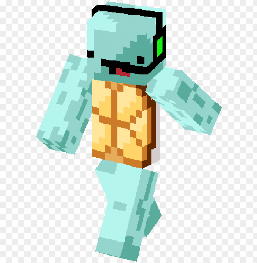free PNG amer derping squirtle skin - minecraft skin squirtle PNG image with transparent background PNG images transparent
