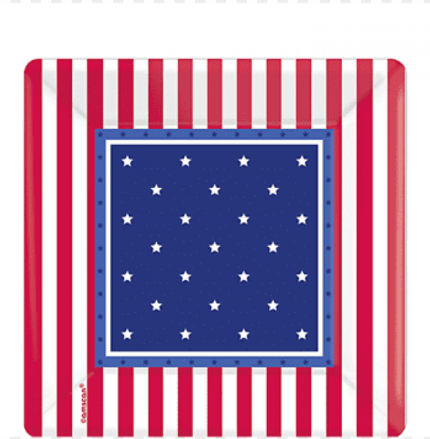 american classic square dessert plates, 7'' - american classic square dessert plates party accessory PNG image with transparent background@toppng.com