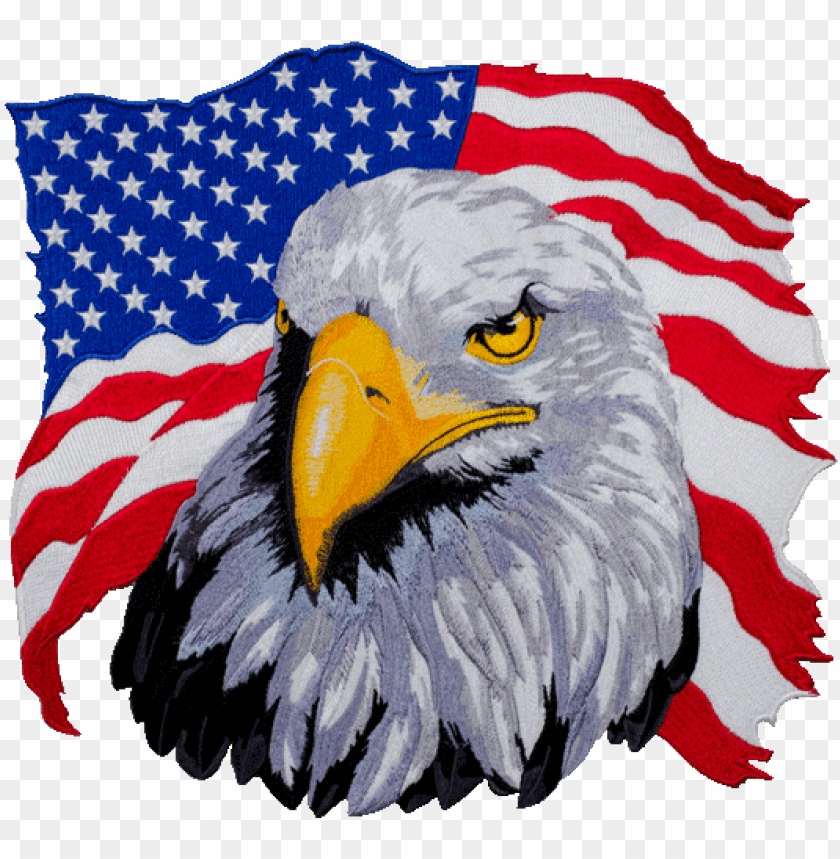 free PNG american eagle motorcycle back patch - american eagle PNG image with transparent background PNG images transparent