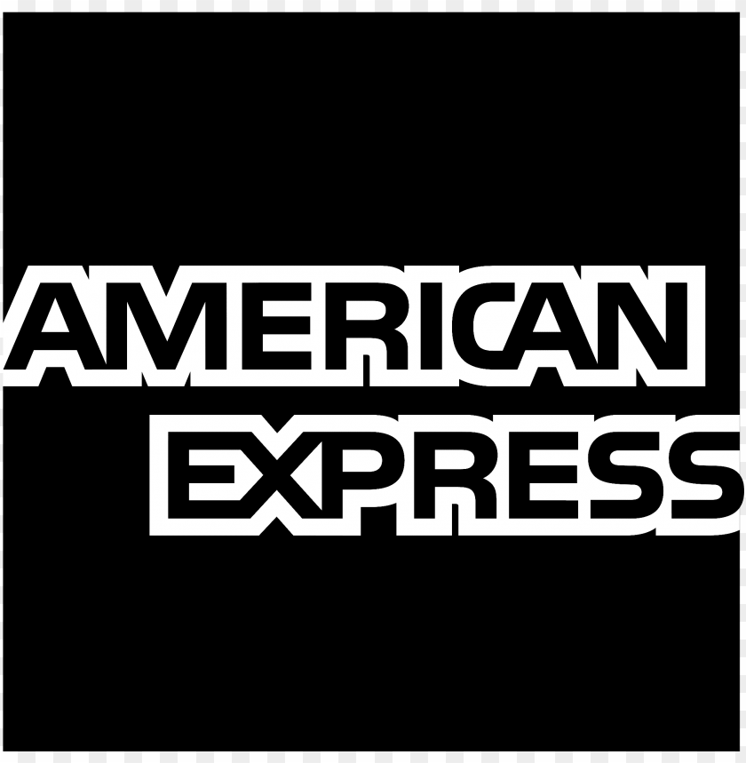 free PNG american express logo black and white - american express cards welcome PNG image with transparent background PNG images transparent