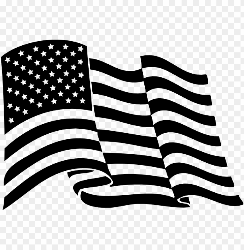 free PNG american flag clip art at clker - waving american flag vector black and white PNG image with transparent background PNG images transparent