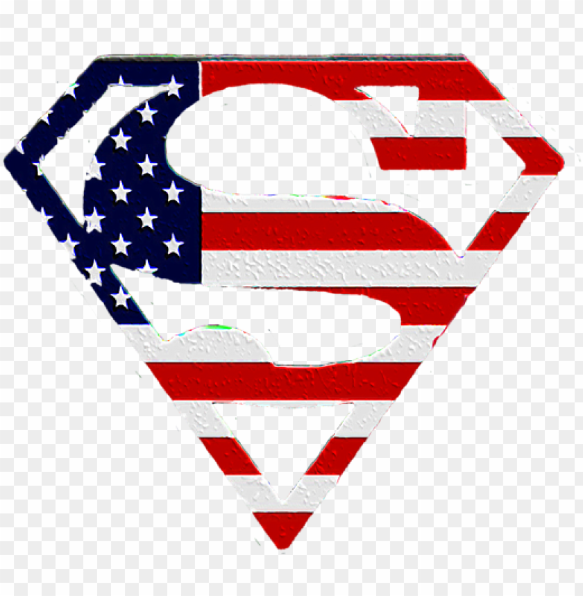 American Flag Superman Shield Adult Pull Logo Superman Bendera Amerika Png Image With Transparent Background Toppng