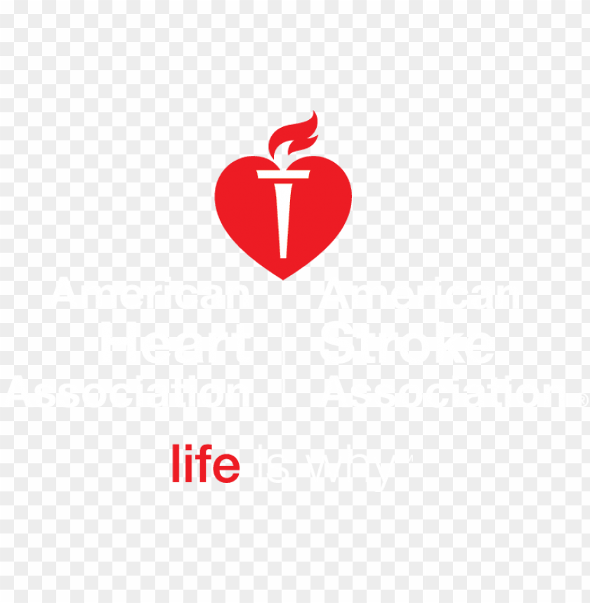 free PNG american heart association banner stock - american heart american stroke association logos PNG image with transparent background PNG images transparent