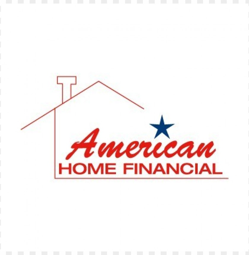 free PNG american home financial logo vector PNG images transparent