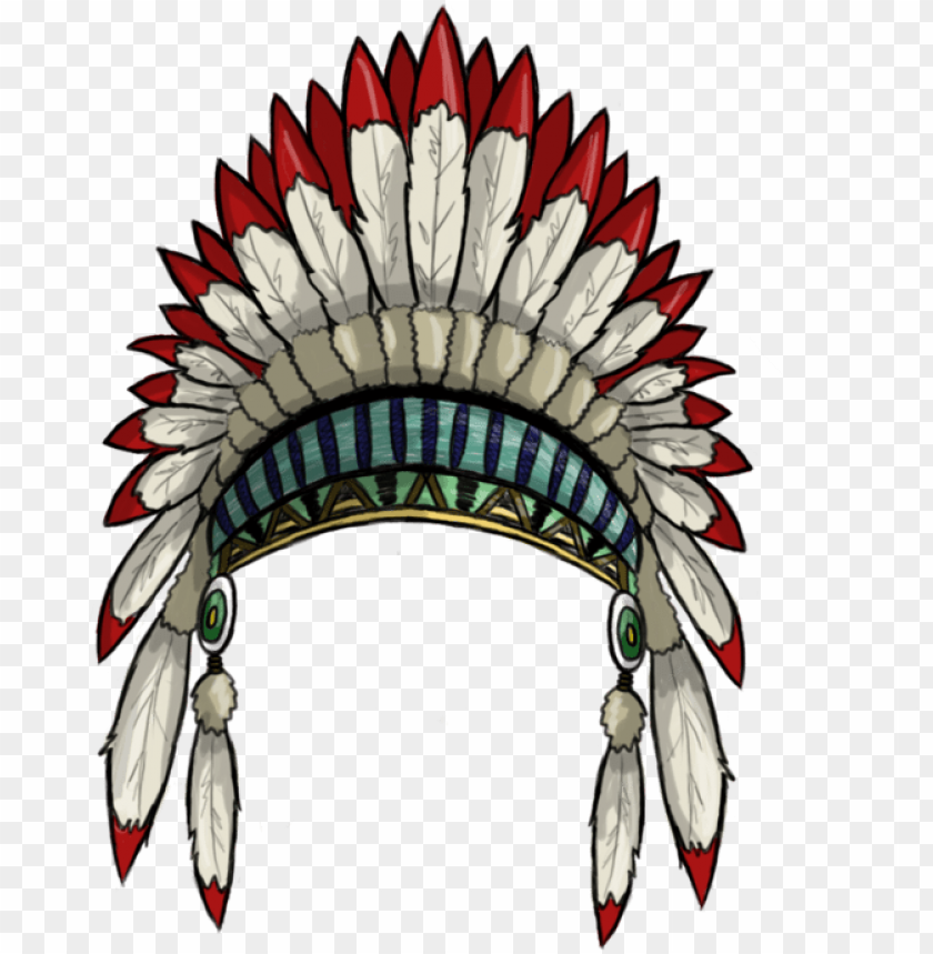 free PNG american indian png - native american headdress PNG image with transparent background PNG images transparent