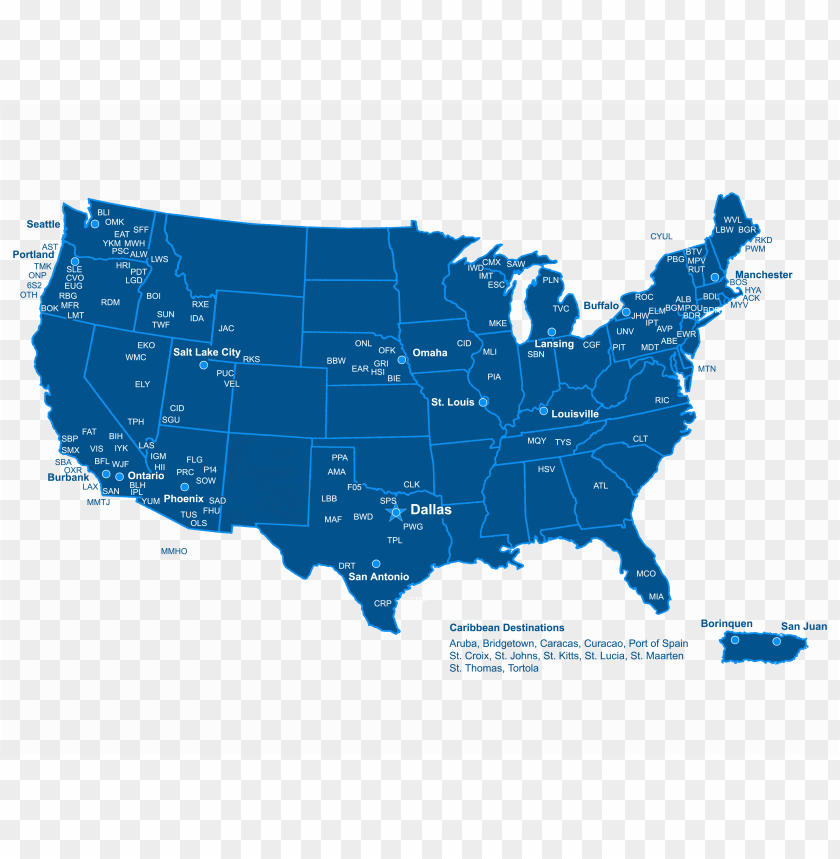 free PNG ameriflight route map - america is rooting for in the super bowl meme PNG image with transparent background PNG images transparent