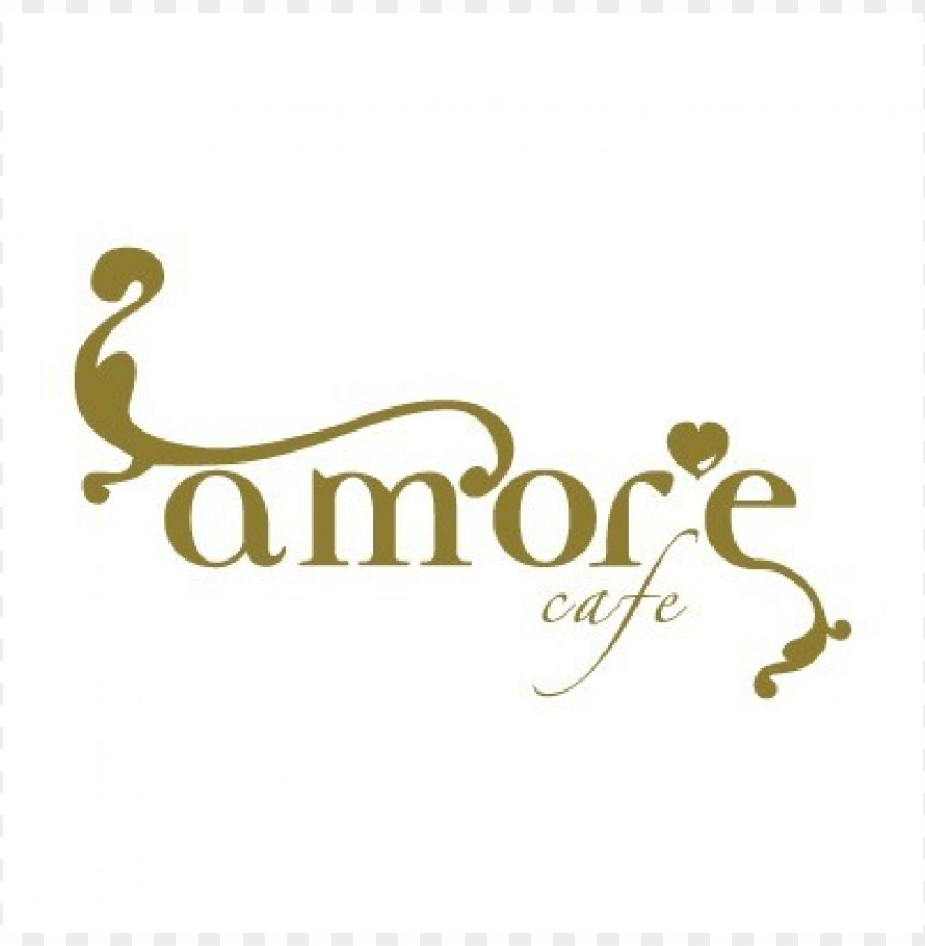 free PNG amore cafe logo vector PNG images transparent