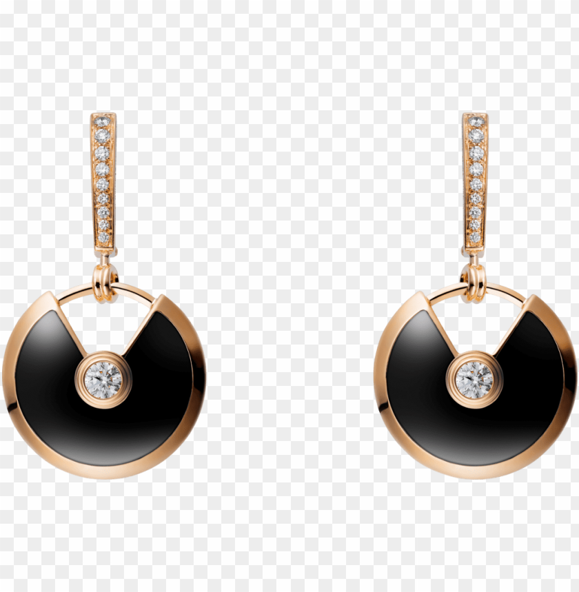 free PNG amulette de cartier 18ct pink gold, onyx PNG image with transparent background PNG images transparent