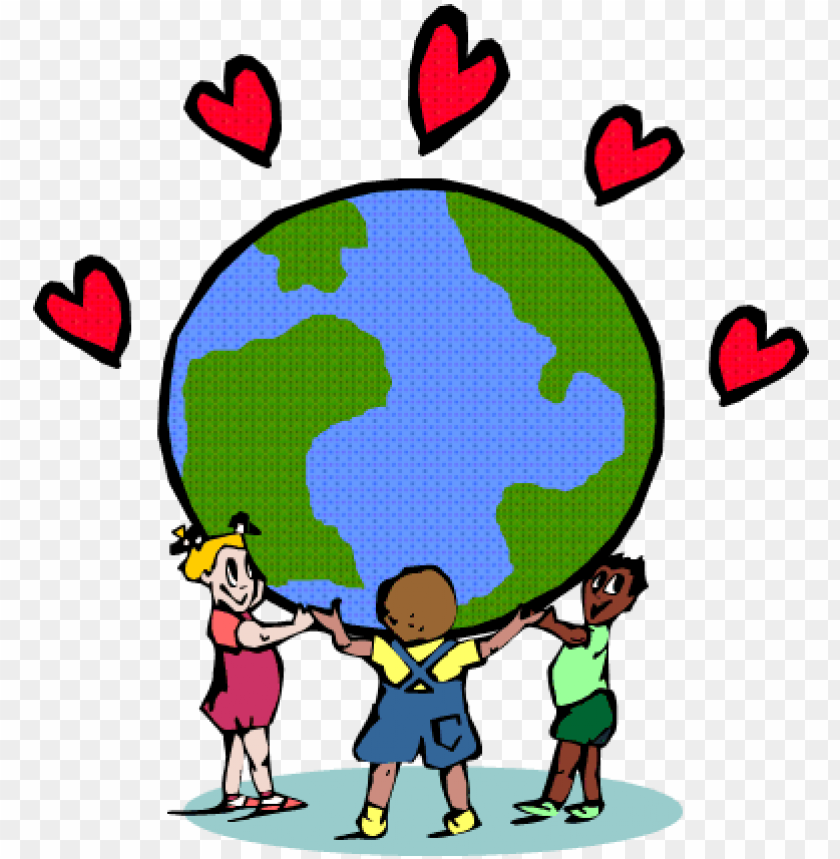 free PNG an earth day craftivity - love mother earth PNG image with transparent background PNG images transparent