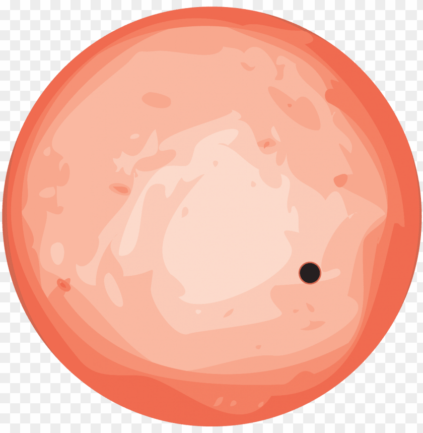 free PNG an easy to observe rocky planet - venus planet cartoo PNG image with transparent background PNG images transparent