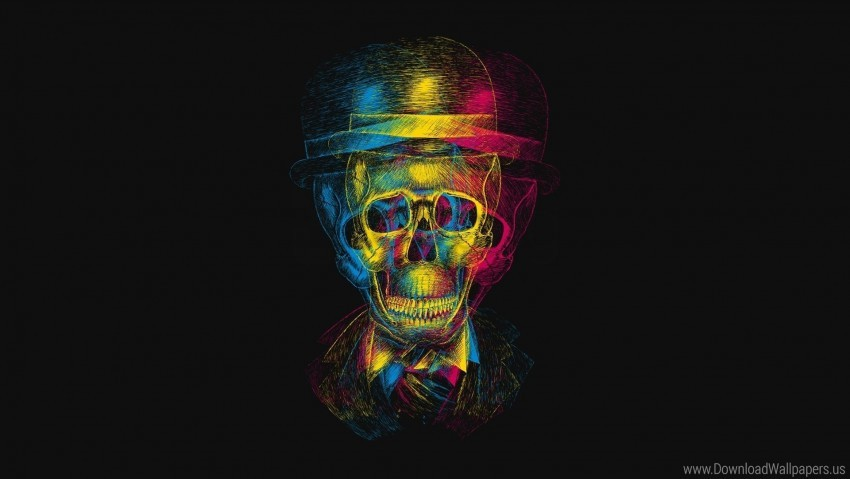 free PNG anaglyph, drawing, hat, skull wallpaper background best stock photos PNG images transparent