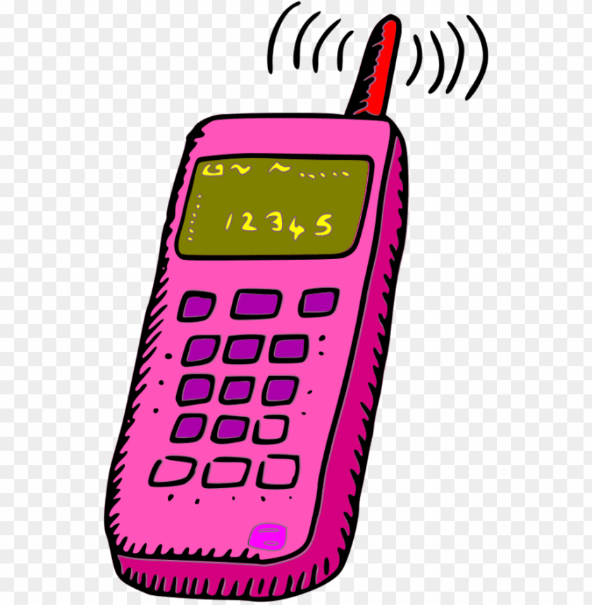 free PNG analogue mobile phone - mobile phone clipart PNG image with transparent background PNG images transparent