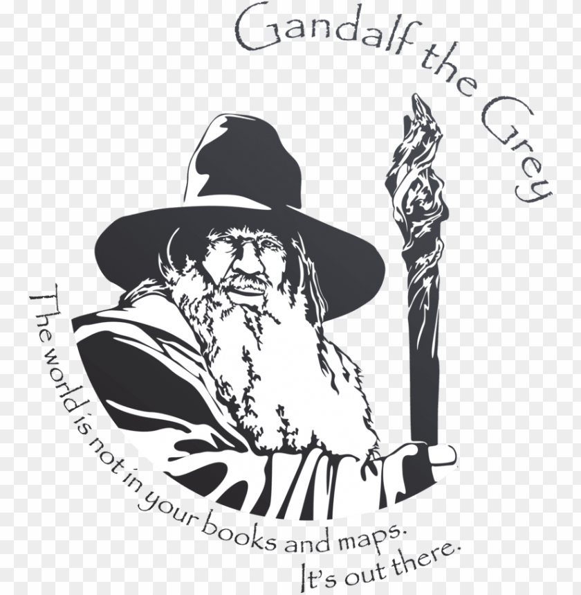 free PNG andalf by mad42sam - lord of the rings gandalf vector PNG image with transparent background PNG images transparent