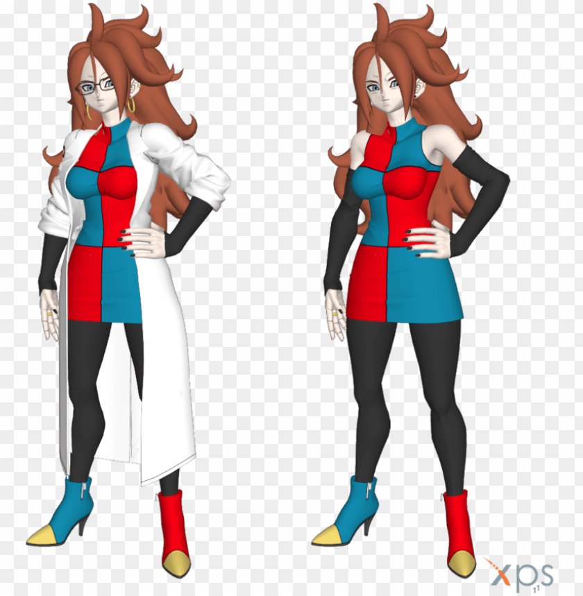 free PNG android 21 png - dragon ball fighterz xnalara PNG image with transparent background PNG images transparent