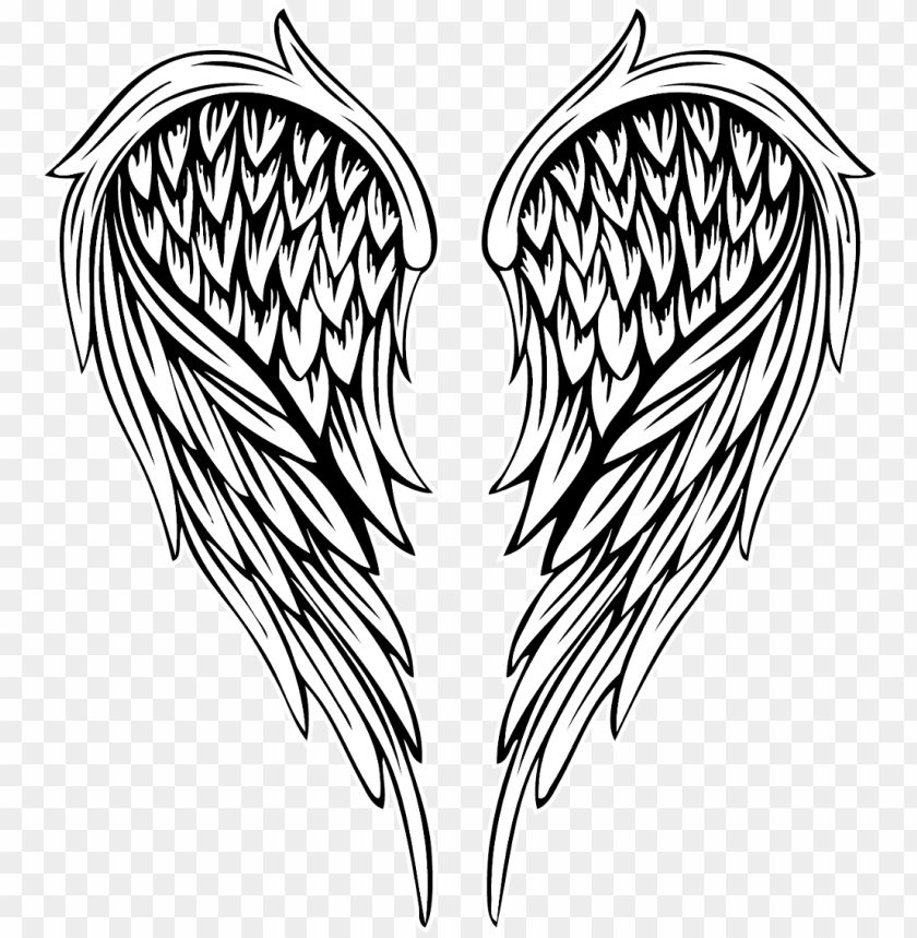 free PNG angel angelwings wing tattoos - angel wings vector PNG image with transparent background PNG images transparent
