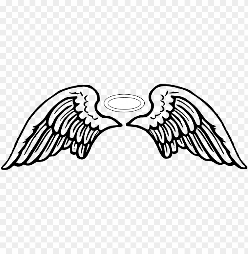 free PNG angel halo wing png - angel wings clip art PNG image with transparent background PNG images transparent