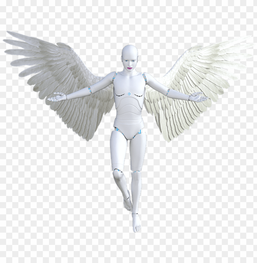 free PNG angel, robot, female, woman, futuristic, cyborg - woman robot PNG image with transparent background PNG images transparent