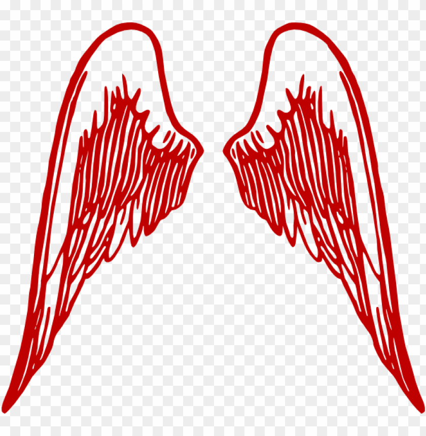 free PNG angel wings burg clip art - angel wings clipart transparent PNG image with transparent background PNG images transparent