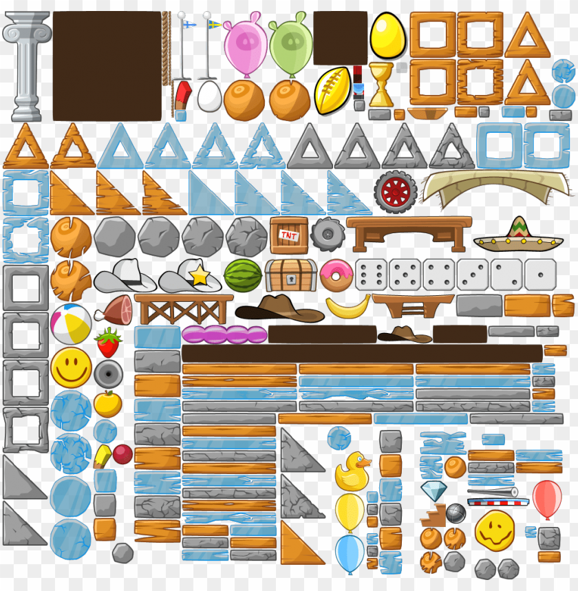 free PNG angry birds blocks - angry birds block PNG image with transparent background PNG images transparent