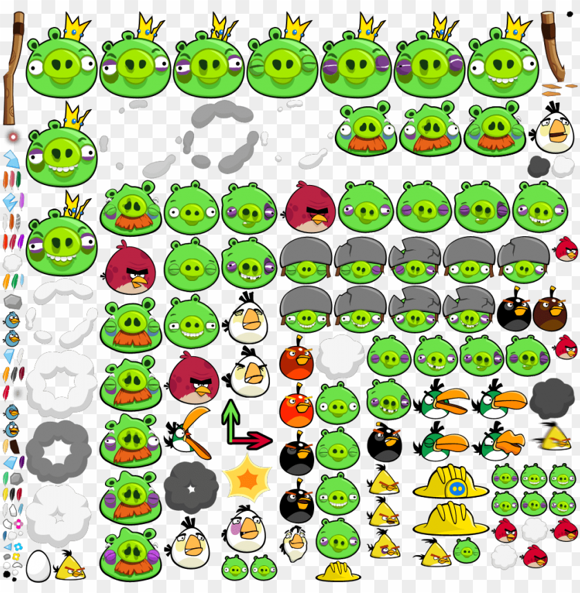 free PNG angry birds ingame birds PNG image with transparent background PNG images transparent