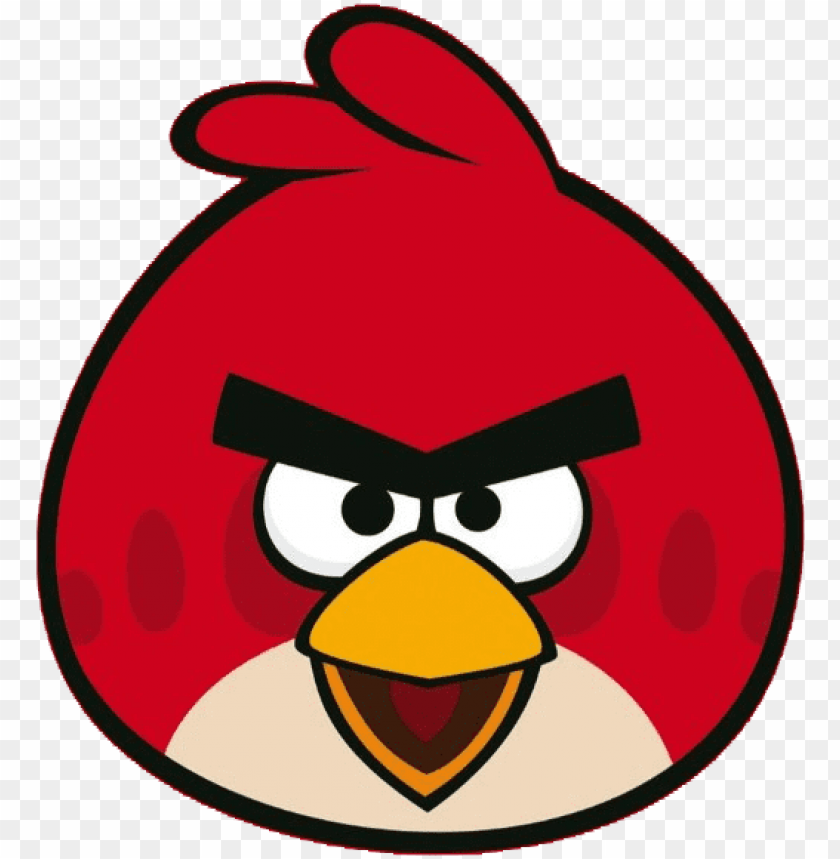 free PNG angry birds red png - angry birds PNG image with transparent background PNG images transparent