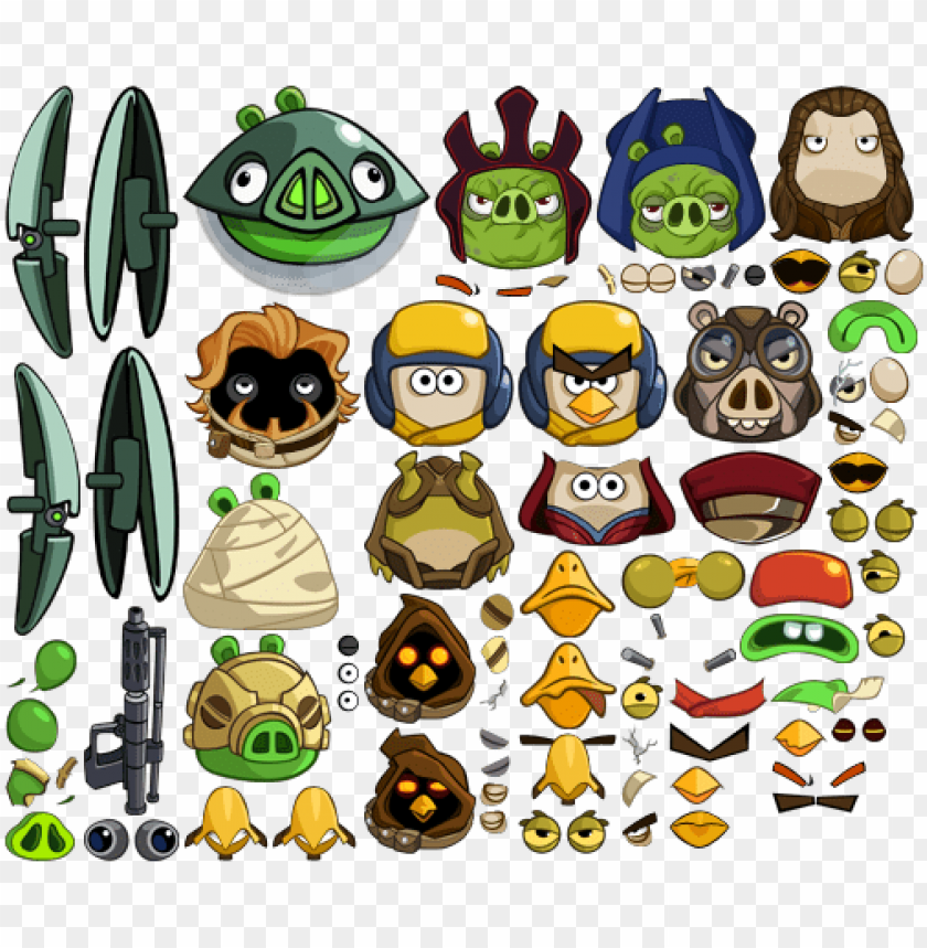 Angry Birds Star Wars 2 Pigs Png Image With Transparent Background Toppng