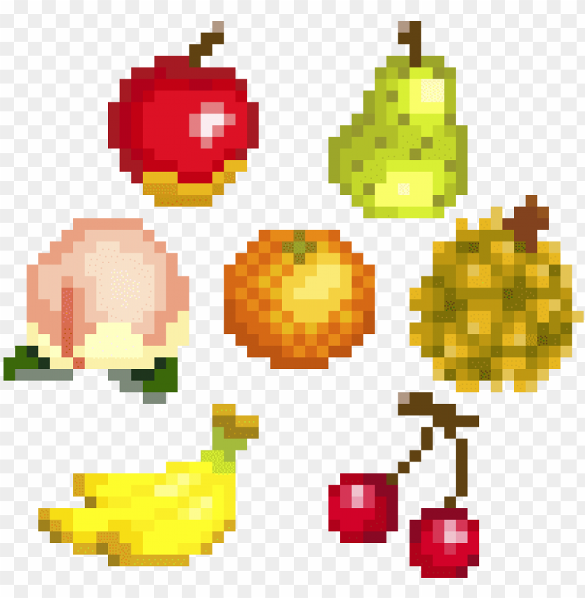 Animal Crossing Fruit Pixel Art Pixels New Leaf Acnl