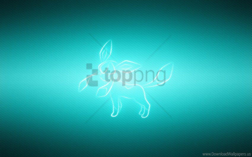 free PNG animal, glaceon, pet, pokemon wallpaper background best stock photos PNG images transparent