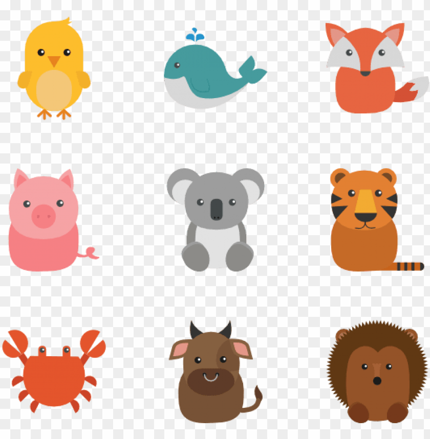 free PNG animal set 12 icons - flat icon animals PNG image with transparent background PNG images transparent