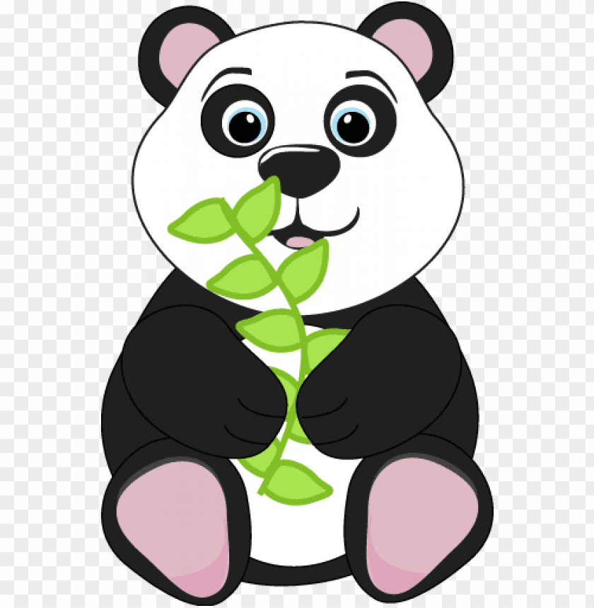 Animals Reading Clipart Panda Bear Clipart Png Image With Transparent Background Toppng